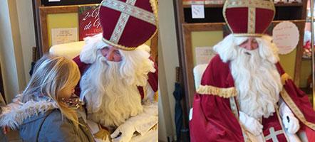 La visite de Saint-Nicolas
